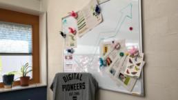 Whiteboard in meinem Büro